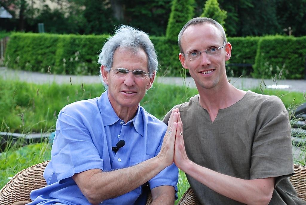 Jon Kabat-Zinn and Johan Bergstad 2010